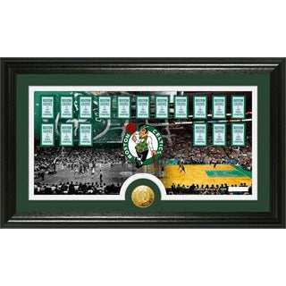 Boston Celtics 'Tradition' Minted Coin Panoramic Photo Mint