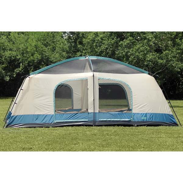 Shop Texsport Blue Mountain 2 Room 8 Person Dome Tent