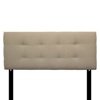 8-button Tufted Arcadia Natural Headboard
