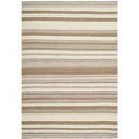 Safavieh Hand-woven Moroccan Reversible Dhurrie Natural Wool Rug - 9' x 12'