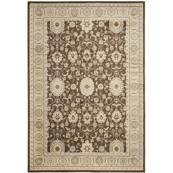 Safavieh Florenteen Brown/Ivory Area Rug - 8' x 10'