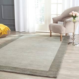 Safavieh Handmade Himalaya Light Grey/ Dark Grey Wool Gabbeh Rug (6' x 9')|https://ak1.ostkcdn.com/images/products/8119916/P15466949.jpg?impolicy=medium