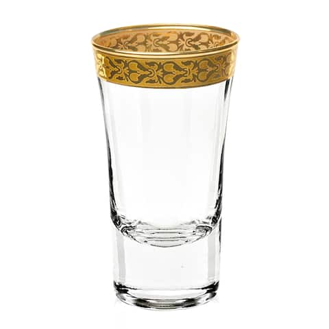 Lorren Home Trends Venezia Shot Glasses (Set of 4)