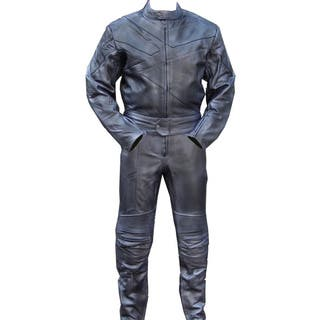 2-piece Motorcycle Riding Racing Track Suit/Padding All-Leather Drag Suit (Option: Xl)|https://ak1.ostkcdn.com/images/products/8119994/P15466988.jpg?impolicy=medium