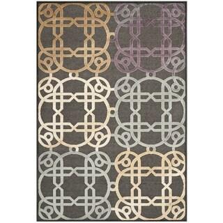 Safavieh Paradise Charcoal Grey Viscose Rug (8' x 11'2)