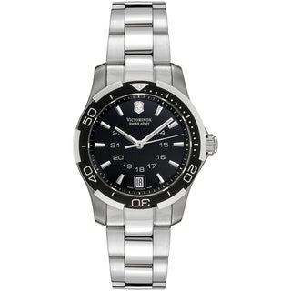 Victorinox Women's 'Sport Lady' Black Dial Watch
