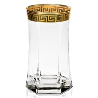 Lorren Home Trends Florence Highball Tumblers (Set of 4)