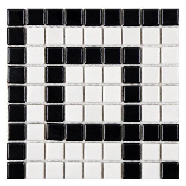 Unusual 12 X 24 Floor Tile Thin 12X12 Black Ceramic Tile Round 1930S Floor Tiles Reproduction 2 X 12 Ceramic Tile Young 2X4 Glass Tile Backsplash Yellow4 X 4 Ceramic Wall Tile SomerTile 8x8 Inch Victorian Greek Key Matte White And Black ..