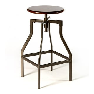 Cyprus Backless Adjustable Swivel Stool