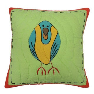 Parrot 16-inch Decorative Throw Pillow