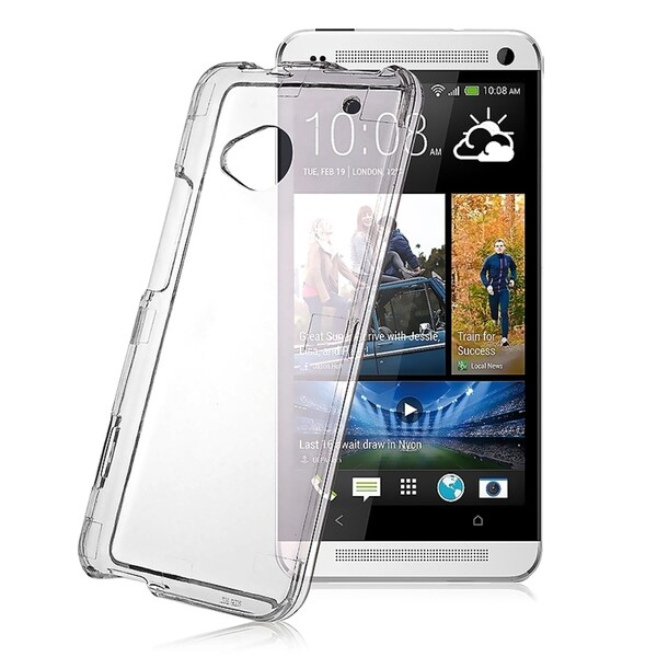 INSTEN Clear Snap-on Crystal Phone Case Cover for HTC One M7