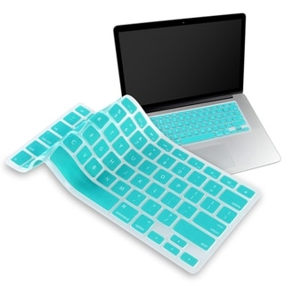 INSTEN Blue Soft Silicone Keyboard Shield for Apple MacBook Pro 13-inch