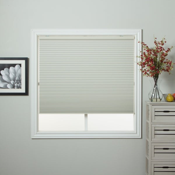 arlo blinds ivory blackout cordless cellular shade free shipping today overstock 15467380. Black Bedroom Furniture Sets. Home Design Ideas