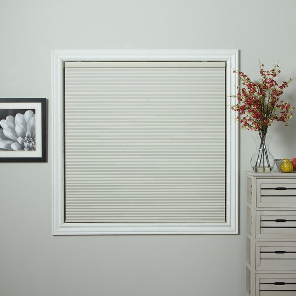 arlo blinds honeycomb ivory cell blackout cordless cellular shades free shipping today