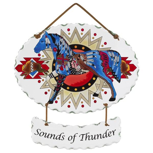 Joan Baker 'Sounds of Thunder' Suncatcher