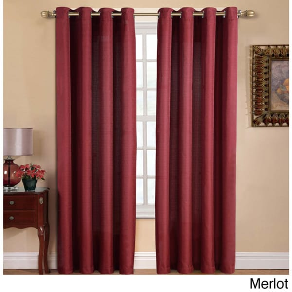 VCNY Manchester Grommet 84-inch Curtain Panel