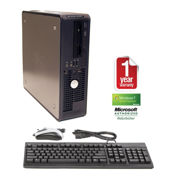 Dell OptiPlex GX620 3.2GHz 2GB 80GB Win 7 Small Form Factor Computer (Refurbished)