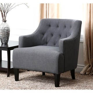 ABBYSON LIVING Davis Fabric Armchair Free Shipping Today Overstock