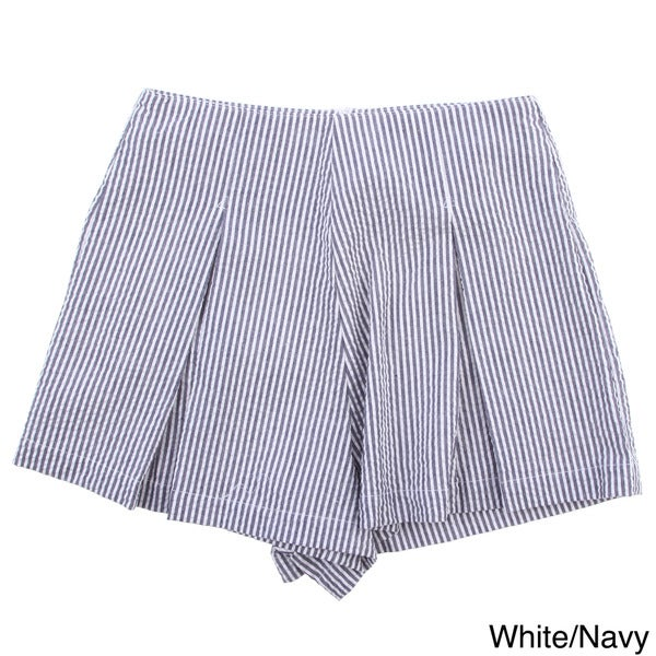 American Apparel Women's 'Hampton' Seersucker Shorts