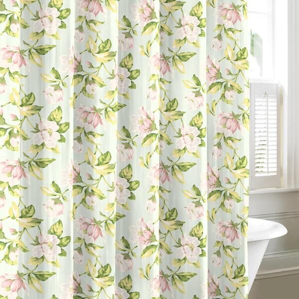 Laura Ashley Carlisle Cotton Shower Curtain