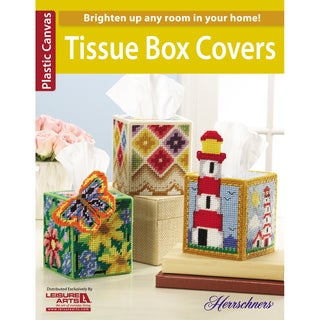 Leisure Arts-Tissue Box Covers