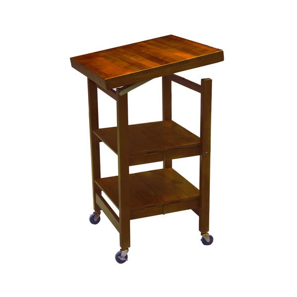 Shop Oasis Concepts All Wood All-Purpose Folding Kitchen ...