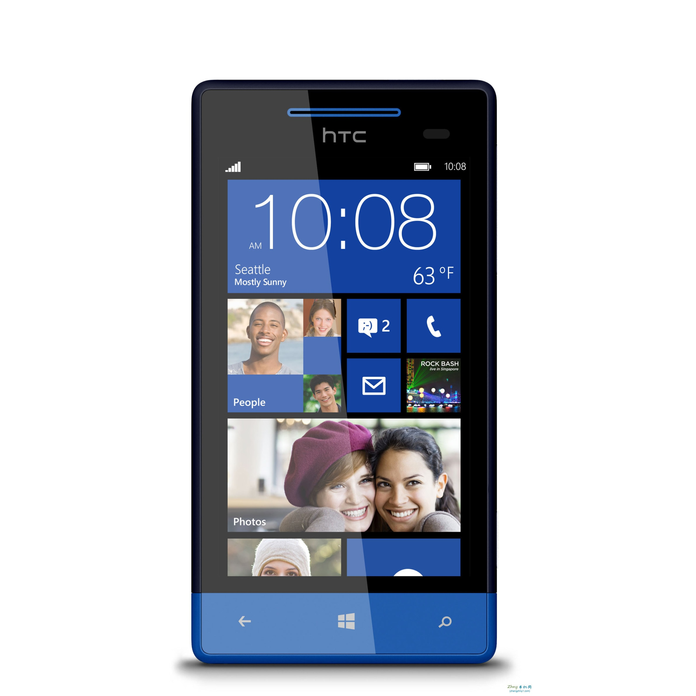 HTC X8 8GB GSM Unlocked Windows 8 Phone (HTC C625B Blue)