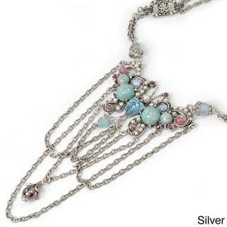Sweet Romance 1930s Butterfly Necklace