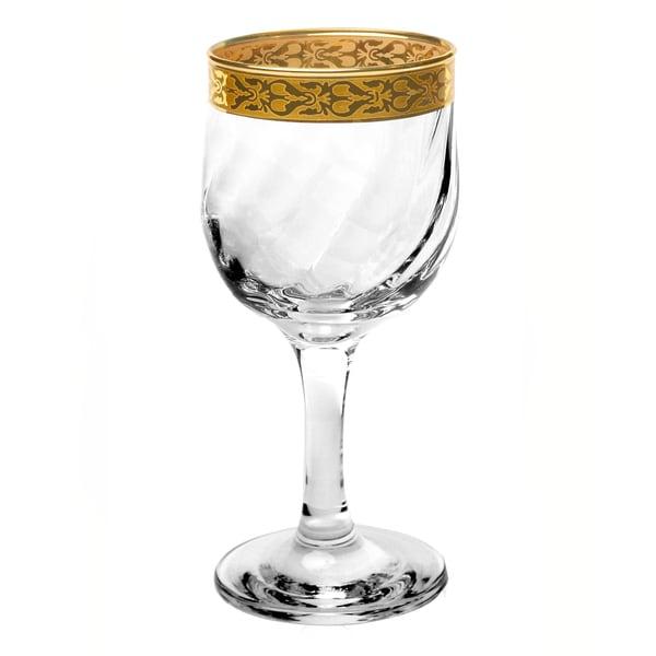 Lorren Home Trends Venezia Red Wine or Water Glasses (Set of 4)