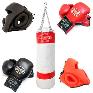 Defender Pro Torino Boxing Heavy Duty Canvas Punching Bag Set