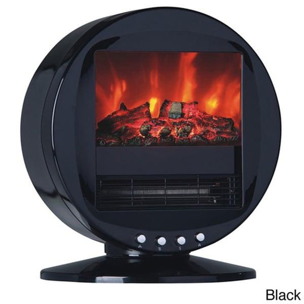 Himalayan Circular 1500-Watt Electric Fireplace