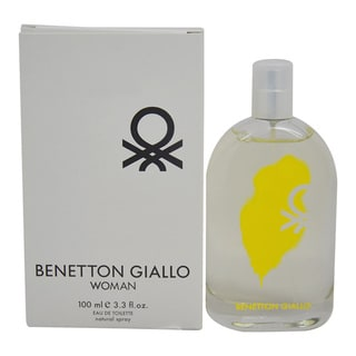 Benetton Giallo Women's 3.3-ounce Eau de Toilette Spray (Tester)