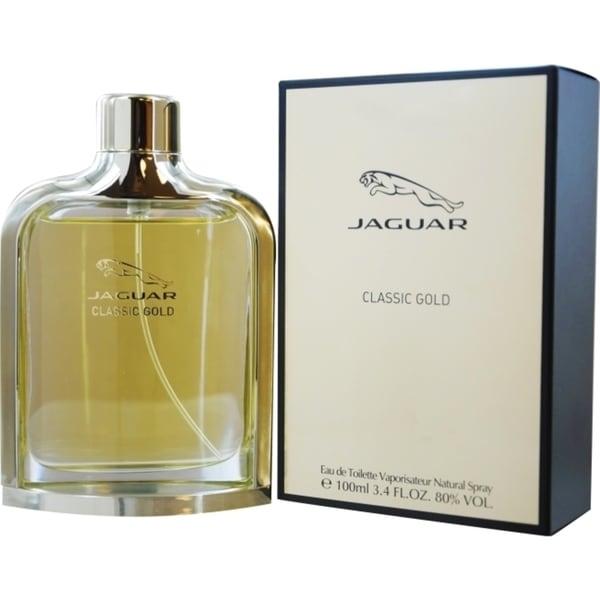 shop jaguar classic gold men 39 s 3 4 ounce eau de toilette. Black Bedroom Furniture Sets. Home Design Ideas