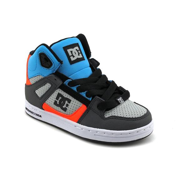 DC Boy Youth 'Rebound' Leather Athletic Shoe