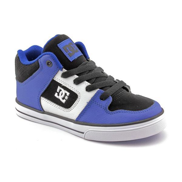 DC Boy Youth 'Radar' Leather Athletic Shoe