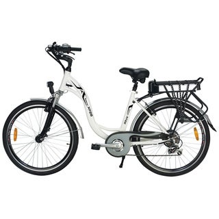 Yukon Trails Xplorer Women's Step Thru Urban Street Electric Bike (26-inch)