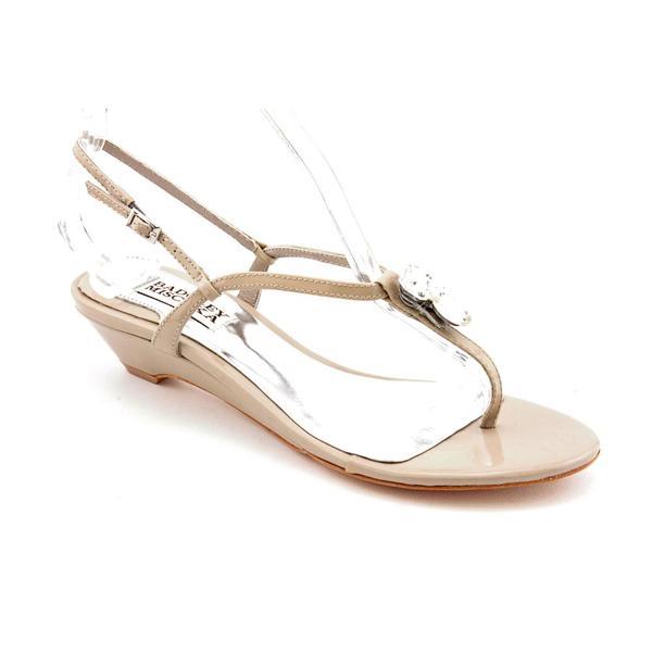 Badgley Mischka Women's 'Zudora' Patent Leather Sandals