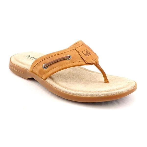 Sperry Top Sider Men's 'Boat Thong Sandal' Leather Sandals