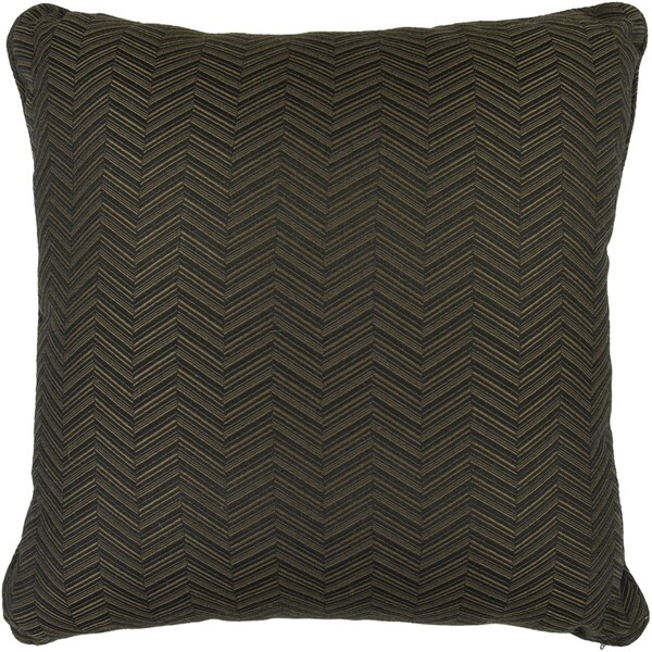 Beautiful Ruby Black Solid Indoor/Outdoor Decorative Pillow - Free Shipping Today - Overstock ...