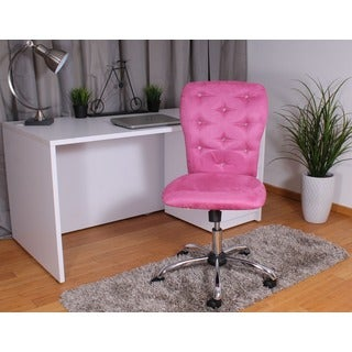 Boss Tiffany Pink Microfiber Chair