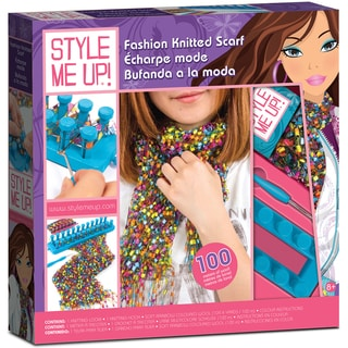 Style Me Up Fashion Knitted Scarf Kit-