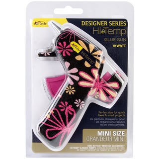 Designer Mini Glue Gun-High Temp Daisy Print