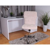 Boss Tiffany Sherpa Faux Fur Chair