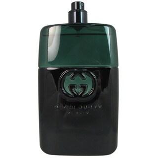 Gucci Guilty Men's Black 3.4-ounce Eau de Toilette Spray (Tester)