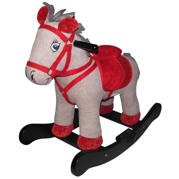 Charm Company Corduroy Horse Rocker