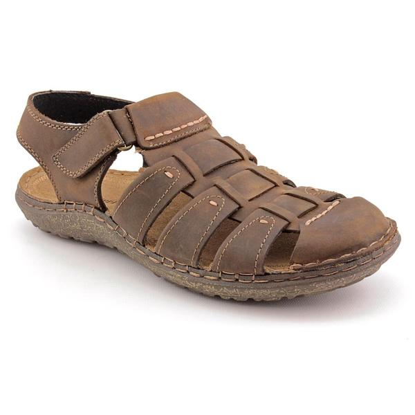 Hush Puppies Men's 'Decode Fisherman' Leather Sandals