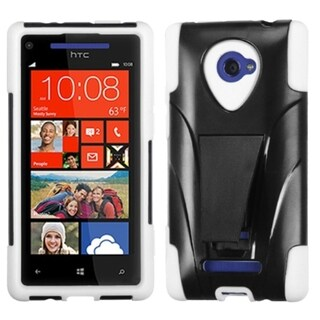 INSTEN Inverse Advanced Armor Stand Phone Case Cover for HTC Windows Phone 8X