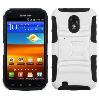 INSTEN Armor Stand Phone Case Cover for Samsung D710 Epic 4G/ Touch Galaxy S2