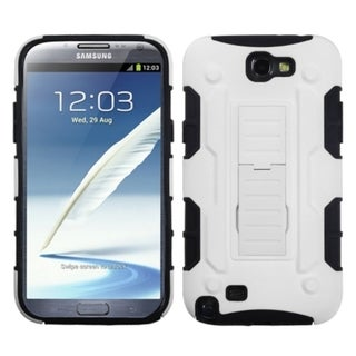 INSTEN Car Armor Stand Phone Case Cover for Samsung Galaxy Note II T889/ I605