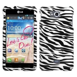 INSTEN Yellow Skin Phone Case Cover for LG MS870 Spirit 4G